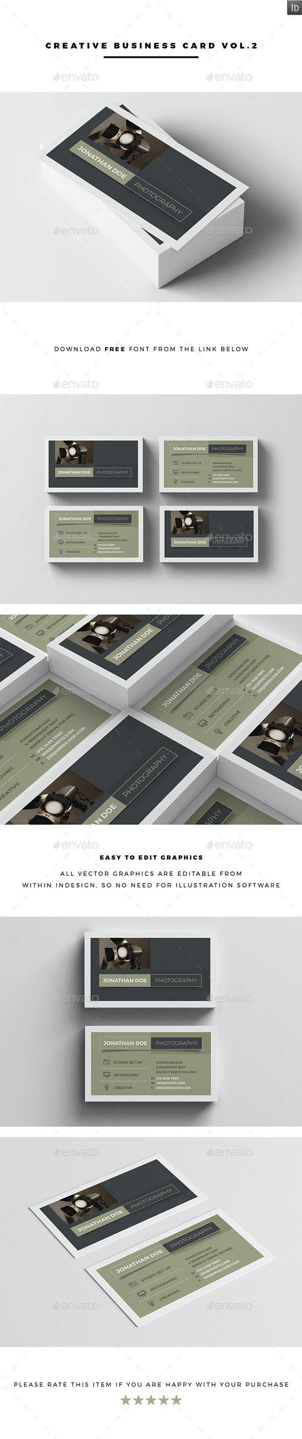 Creative Business Card Vol.3 - Creative Business Cards