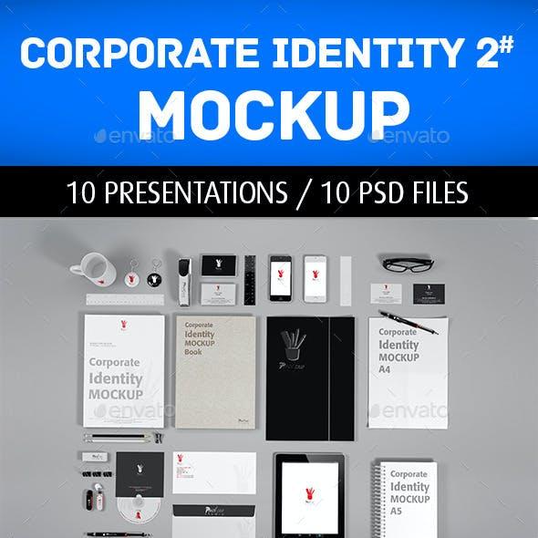 Corporate Identity Mockup V2
