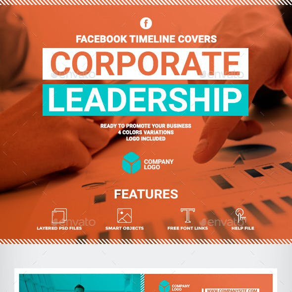 Facebook Timeline Covers - Corporate Leadership