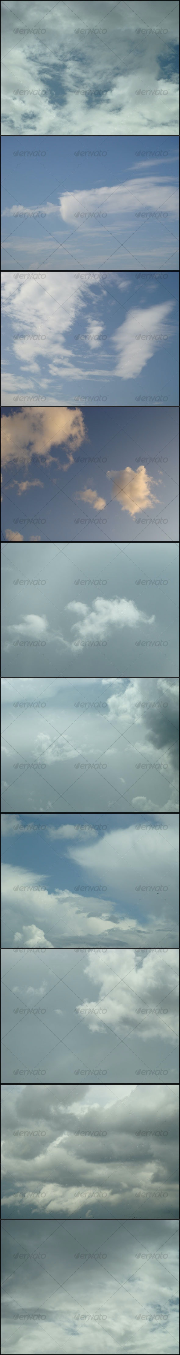 Clouds 1 - Miscellaneous Textures