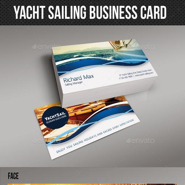Yacht Sailing Business Card 02
