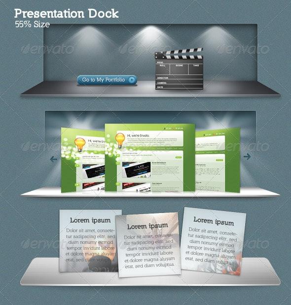Presentation Dock - Miscellaneous Web Elements
