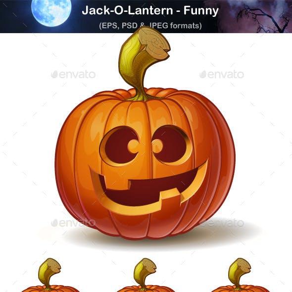 Jack-o-Lantern - Funny