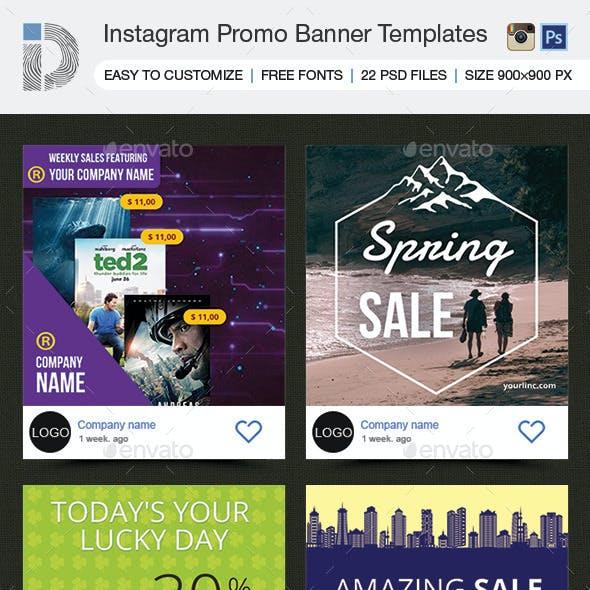 Instagram Banner Templates - Summer Sale