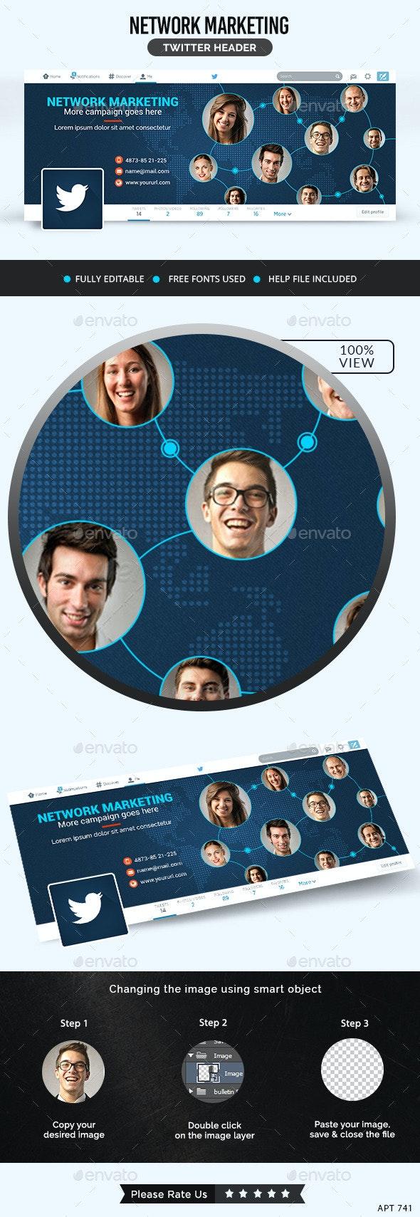 Marketing Twitter Header - Twitter Social Media