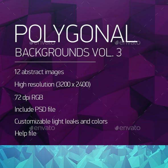 Polygonal Backgrounds Vol. 3