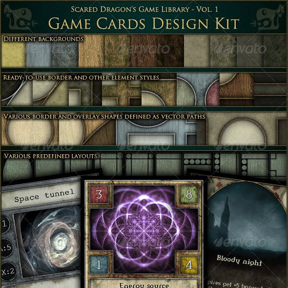Game Cards Design Kit
