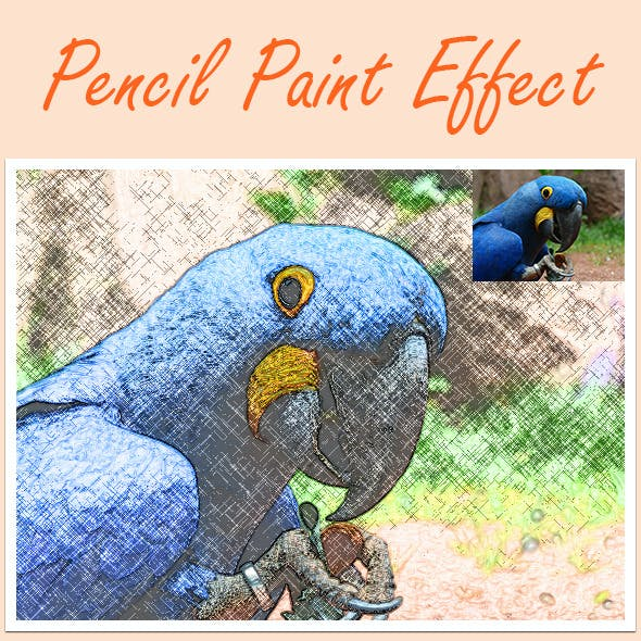 Pencil Paint Effect