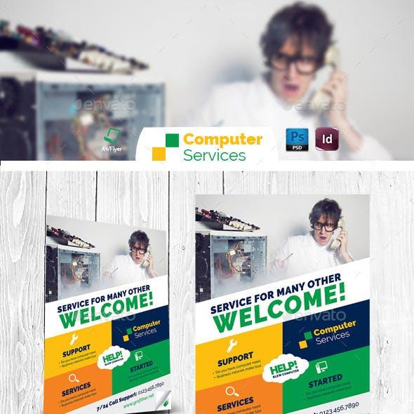 Computer Repair Flyer Templates