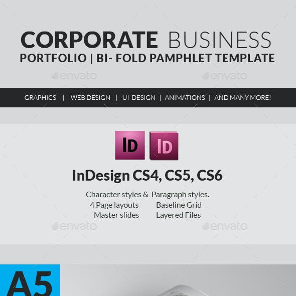 Corporate Business Solutions Pamphlet
