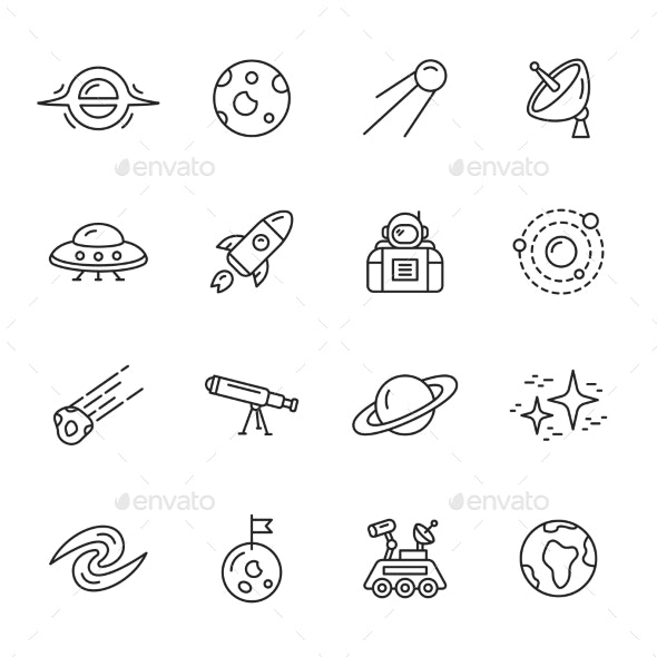 Space Icons - Icons