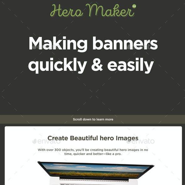 Hero Banner Maker