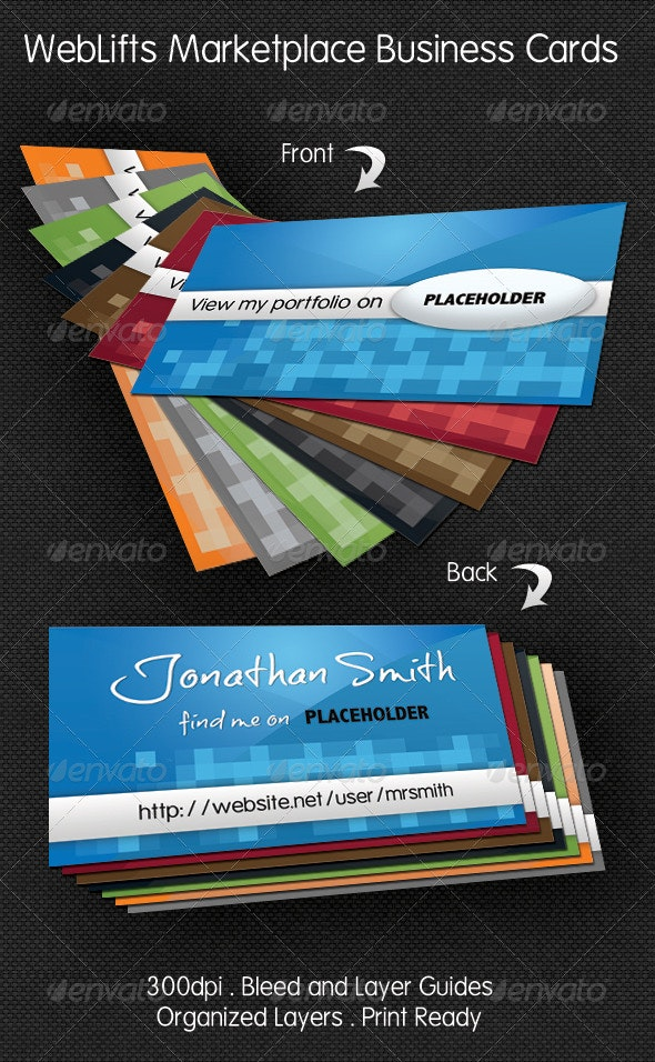 WebLifts Marketplace Business Cards - Creative Business Cards