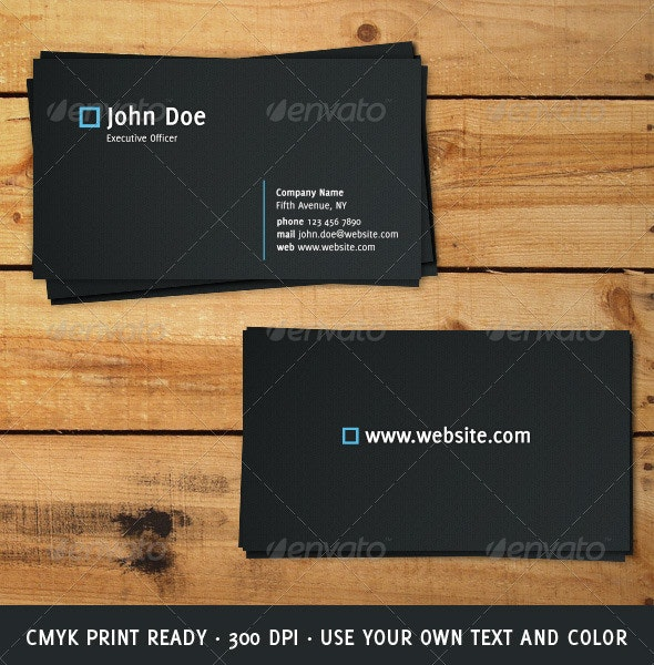 Elegant Modern Business Card - Corporate Business Cards