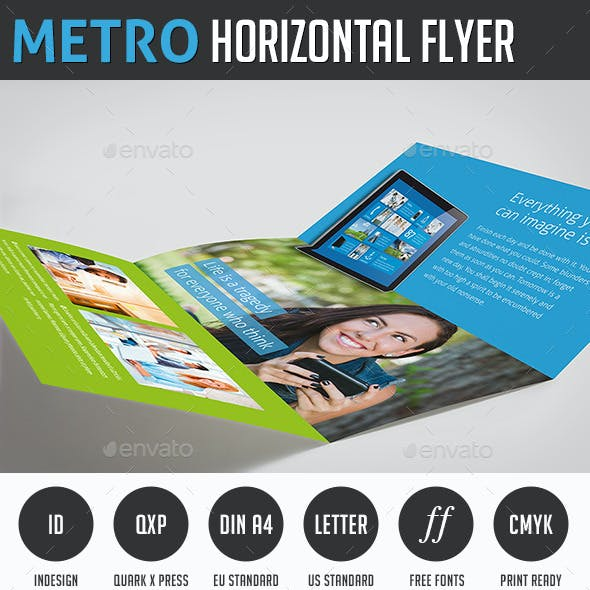 Metro Horizontal Brochure