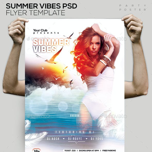 Summer Vibes Beach Party