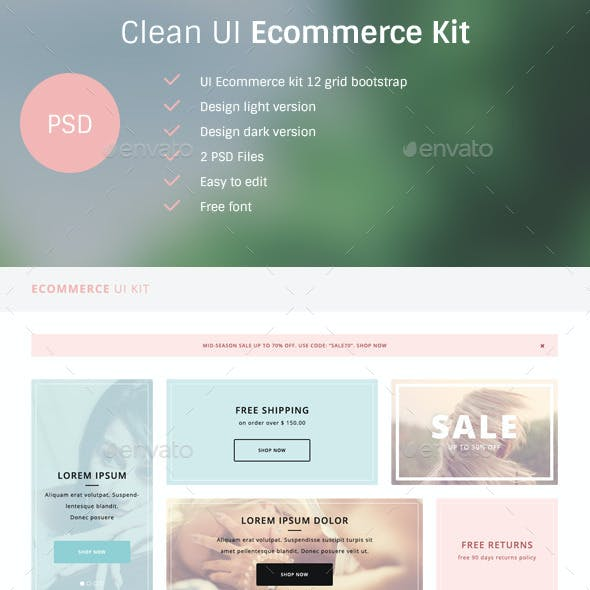 Clean UI Ecommerce Kit