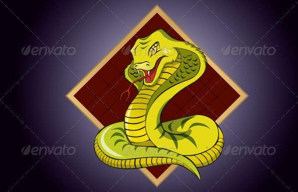 Cobra Snake  - Characters Vectors