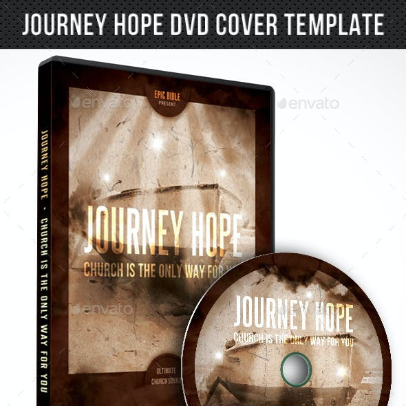 Journey Hope DVD Cover Template