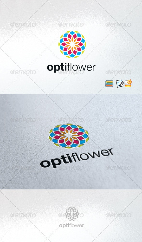 Optiflower - Nature Logo Templates
