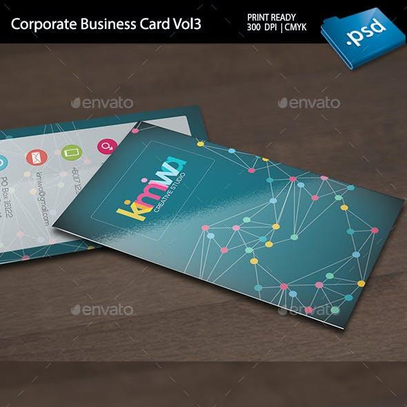 Corporate Business Card Vol3