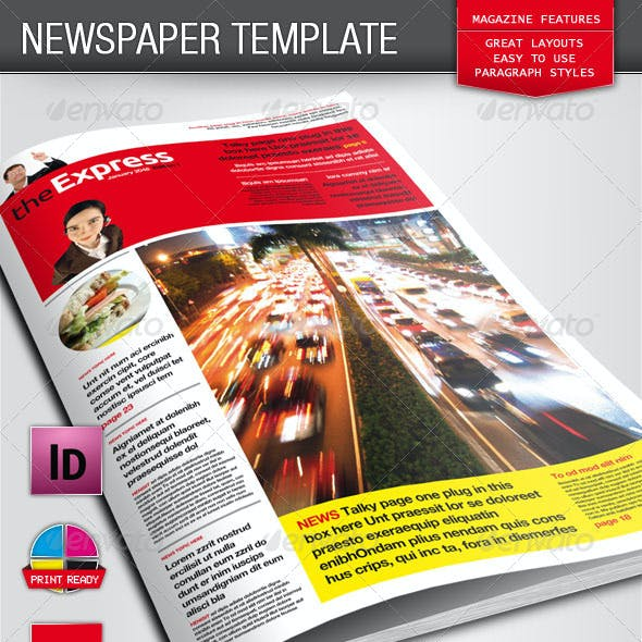 Berliner Newspaper/Magazine Template