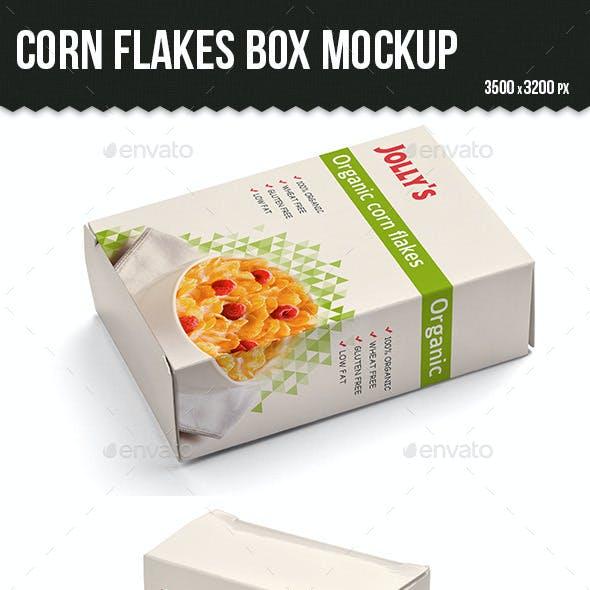 Cornflakes Box Mockup