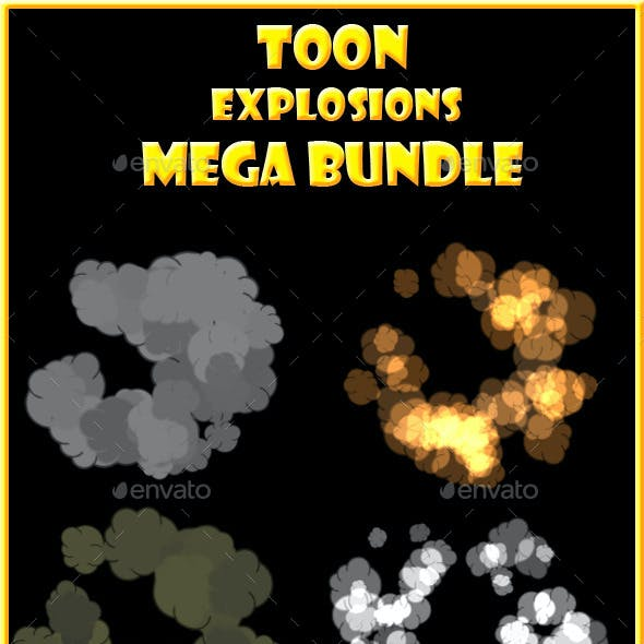Toon Explosions Mega Bundle