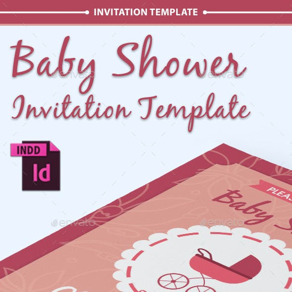 Baby Shower Template - Vol. 9
