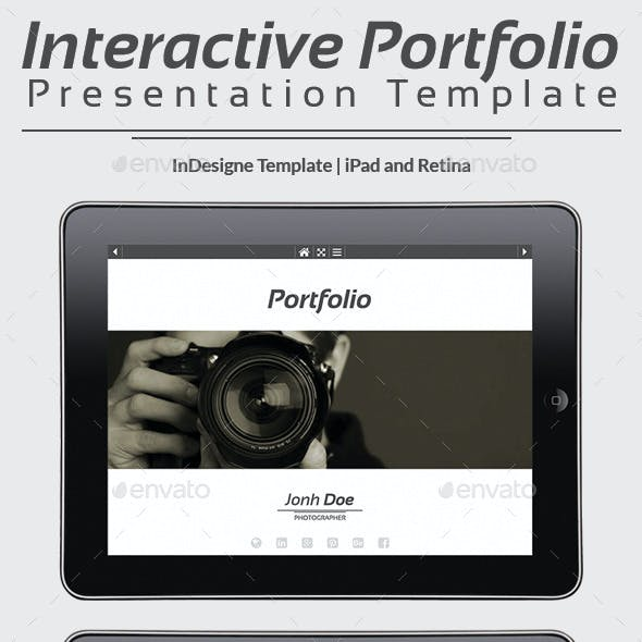 Interactive Portfolio Prezentation No1