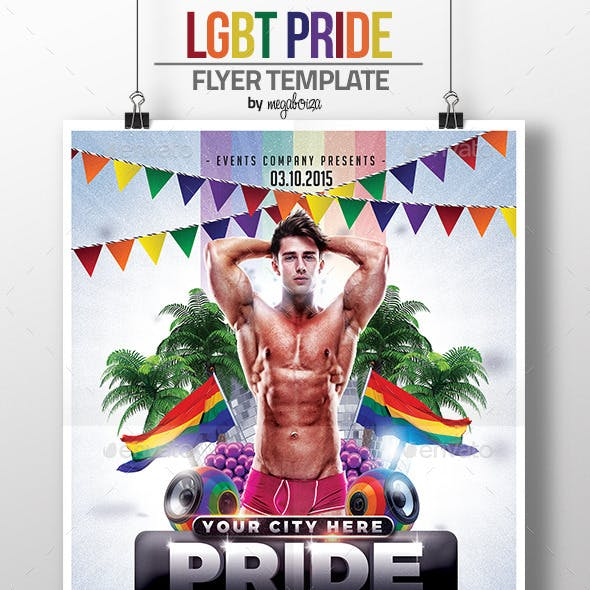LGBT Pride Flyer / Poster Template