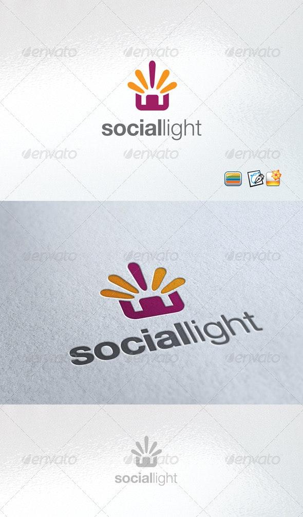 SocialLight - Nature Logo Templates