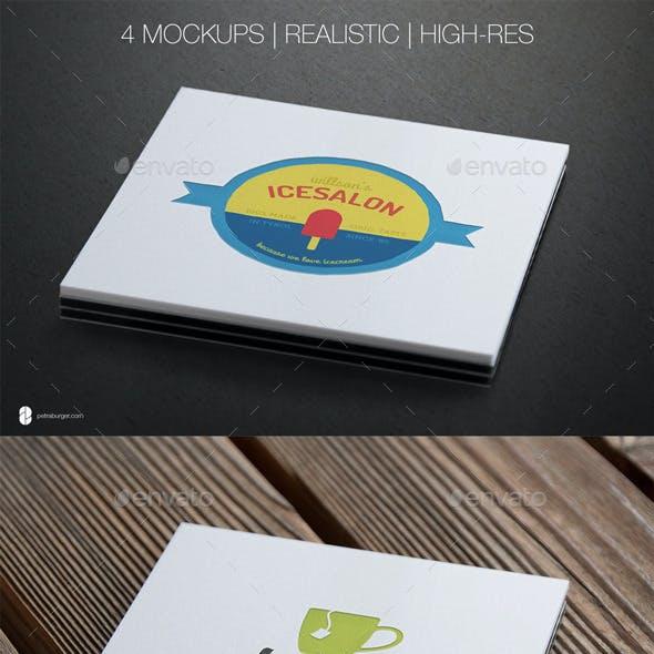 Authentic Logo Mockup Vol. 01