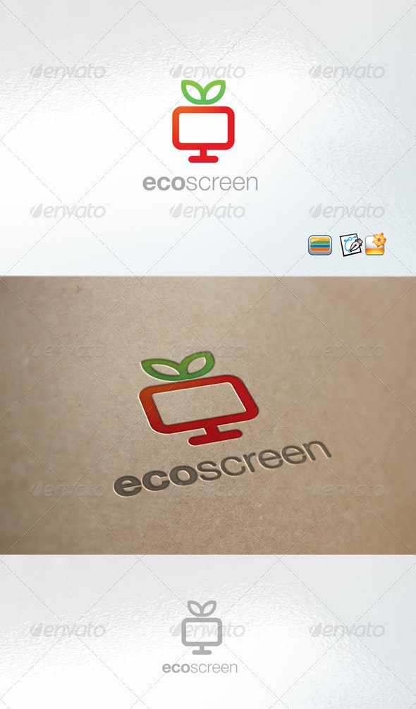 Ecoscreen - Nature Logo Templates