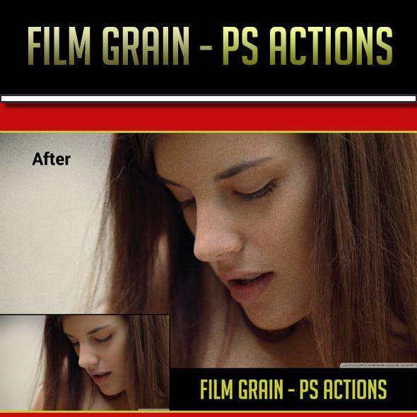 Film Grain PS Actions