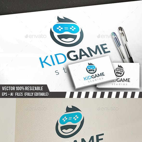 Kid Gamer Logo