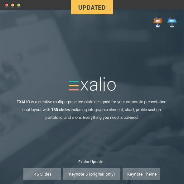 Exalio - Keynote Template