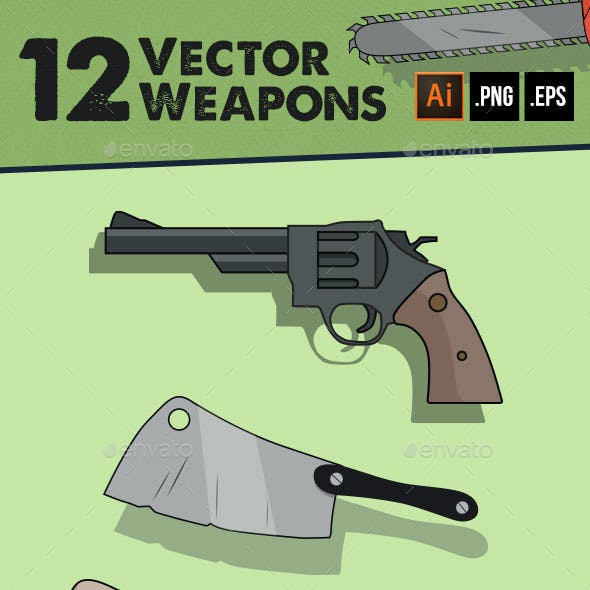 12 Vector Weapons