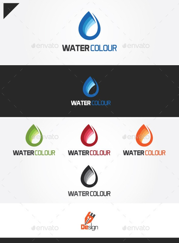 WaterColour - Nature Logo Templates