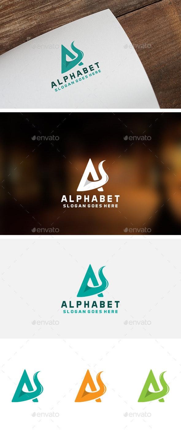 Alphabet A Logo - Letters Logo Templates