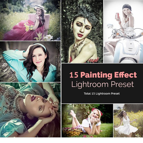 15 Painting Effect Lightroom Preset
