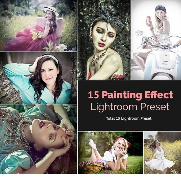 15 Painting Effect Lightroom Preset