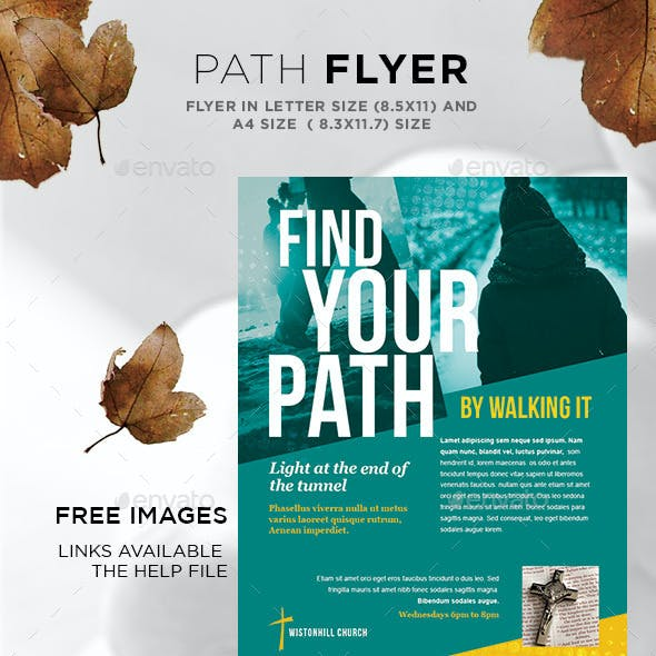 Flyer - Find your Path