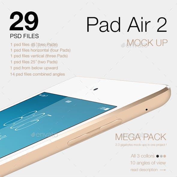 Pad Air 2 Mock-up