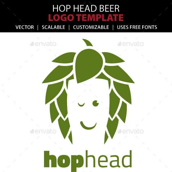 Hop Head Beer Logo