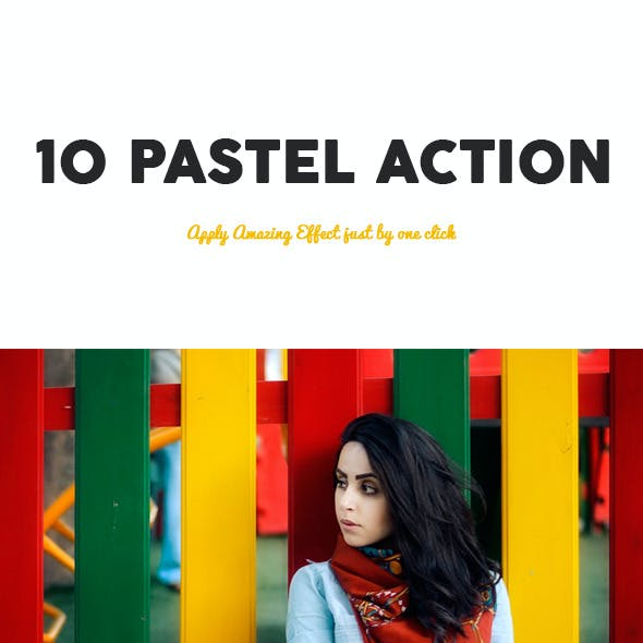 10 Pastel Photoshop Action