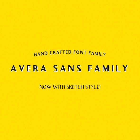 Avera Sans + Sketch!