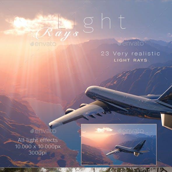 Light Rays - Sunburst