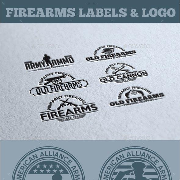 Firearms Labels & Logo