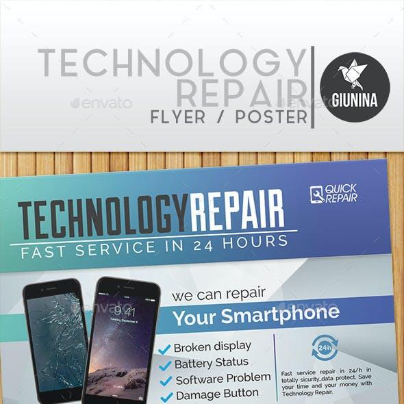Technology Repair Flyer/Poster